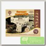 'Чудо-дерево' Модель сборная деревянная 'Оружие' №09 80097 Пистолет-пулемет УЗИ