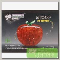 '3D Puzzle' Магический кристалл №02 Яблоко со светом 45 элемент