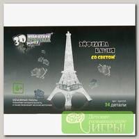 '3D Puzzle' Магический кристалл №03 Эфелева башня со светом 24 элемент