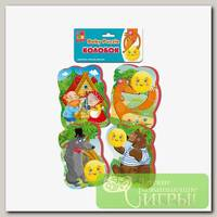 'Vladi Toys' Мягкие пазлы Baby puzzle 5 элемент. Сказки 'Колобок'