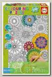 'EDUCA' Пазл-раскраска 300 элемент. 'Цветы'
