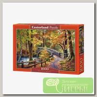 'Castorland' Пазл 1000 элемент. Мост в парке