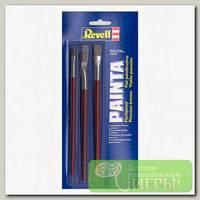 'Revell' Кисточки плоские 3 шт.