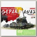 'MENG' 'зенитная самоходная установка' GERMAN FLAKPANZER GEPARD A1/A2 1/35