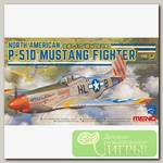 'MENG' LS-006 'самолёт' NORTH AMERICAN P-51D MUSTANG FIGHTER 1/48