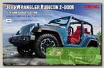 'MENG' CS-003 'автомобиль' Jeep WRANGLER RUBICON 2-DOOR 10TH ANNIVERSARY EDITION 1/24