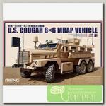 'MENG' 'бронетранспортер' U.S. COUGAR 6x6 MRAP VEHICLE 1/35