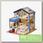 Интерьер в миниатюре 'Happy Home' 'Дом с бассейном и красным кабриолетом' 27х24х27,2 см