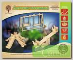 'Чудо-дерево' Модель сборная деревянная 'Аттракционы' №02 P036 'Детская площадка'