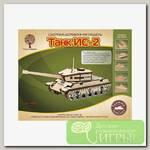 'Чудо-дерево' Модель сборная деревянная 'Техника' №01 80092 'Танк ИС-2'