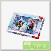 'Trefl' Пазл 160 детские (Дисней) 160 элемент. 'Зимние приключения'