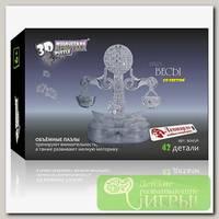 '3D Puzzle' Магический кристалл 'Знаки Зодиака' со светом Весы 42 элемент