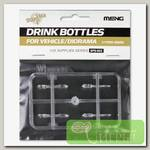 'MENG' 'бутылки' Drink Bottles for Vehicle/Diorama(4types) 1/35