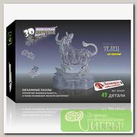 '3D Puzzle' Магический кристалл 'Знаки Зодиака' со светом №1 Телец 43 элемент