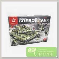 'Армия России' Конструктор 'Боевой танк' 1386 элемент. АР-01006