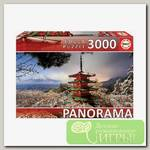'EDUCA' Пазл №2 3000 деталей 3000 элемент. 'Гора Фудзи и пагода Чурейто'
