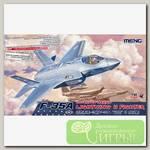 'MENG' LS-007 'самолёт' LOCKHEED MARTIN F-35A LIGHTNING II FIGHTER 1/48