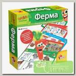 'LISCIANI' Игра обучающая 'Ферма' с интерактивной Морковкой