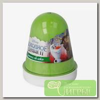 'Kiki' Slime Fluffy 'Зимнее яблоко' Зеленый