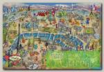 'EDUCA' Пазл №17 500 элемент. 'Карта Парижа'
