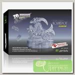 '3D Puzzle' Магический кристалл 'Знаки Зодиака' со светом №1 Козерог 41 элемент
