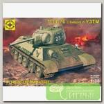 'МОДЕЛИСТ' Модель сборная танк №02 303526 Танк Т-34-76 с башней УЗТМ 1/35