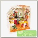 Интерьер в миниатюре 'DIY House' 'Кухня' 19 x 16.5 x 18.7 см DG105 1/43