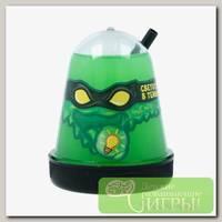 'Slime 'Ninja' Лизун Зеленый, светится в темноте