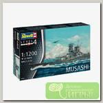 'Revell' 06822 Модель сборная Линейный корабль Musashi 1/1200