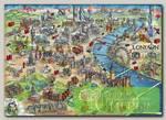 'EDUCA' Пазл №17 500 элемент. 'Карта Лондона'