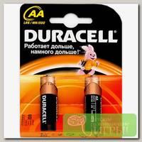 'Duracell' Элемент питания 2 шт в блистере LR6-2BL BASIC Б0026814