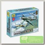 'ZVEZDA' Набор №22 для моделирования подарочный 5201 Великое противостояние'Мессершмитт BF- 109' против 'Як-3' 1/72