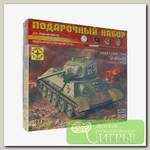 'МОДЕЛИСТ' Набор для моделирования танк №01 ПН303526 Т-34-76 с башней УЗТМ 1/35