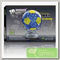 '3D Puzzle' Магический кристалл №03 Футбольный мяч (рус) 77 деталей 77 элемент